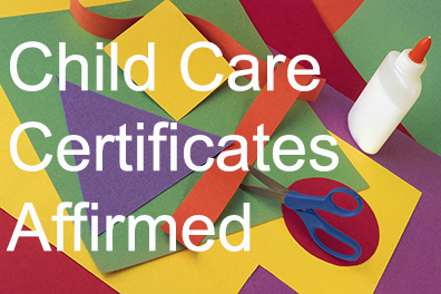 Child Care Affirmed