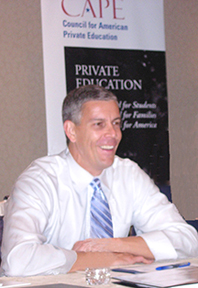 Education Secty. Arne Duncan
